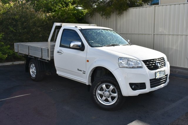 Used Great Wall V200 K2 MY14 , 2014 Great Wall V200 K2 MY14 White 6 Speed Manual Cab Chassis