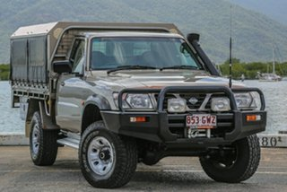 2002 Nissan Patrol GU DX Silver 5 Speed Manual Cab Chassis.