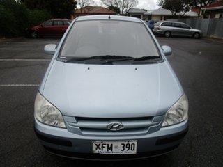 2005 Hyundai Getz TB GL 5 Speed Manual Hatchback.