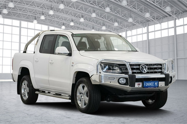 Used Volkswagen Amarok 2H MY19 TDI550 4MOTION Perm Highline, 2019 Volkswagen Amarok 2H MY19 TDI550 4MOTION Perm Highline White 8 Speed Automatic Utility