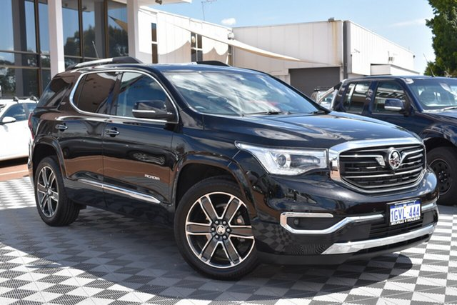 Used Holden Acadia AC MY19 LTZ-V AWD, 2018 Holden Acadia AC MY19 LTZ-V AWD Black 9 Speed Sports Automatic Wagon