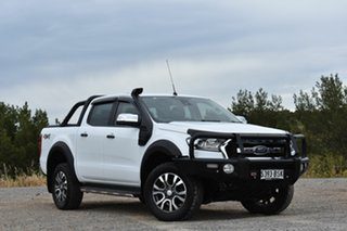 2017 Ford Ranger PX MkII XLT Super Cab White 6 Speed Sports Automatic Utility.
