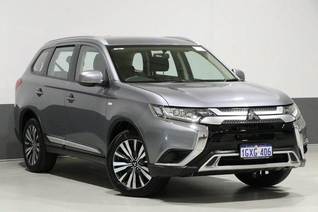 Used Mitsubishi Outlander ZL MY19 ES 7 Seat (AWD), 2018 Mitsubishi Outlander ZL MY19 ES 7 Seat (AWD) Grey Continuous Variable Wagon