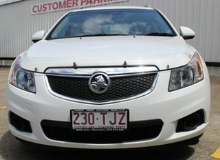 2014 Holden Cruze JH Series II MY14 CD Sportwagon White 6 Speed Sports Automatic Wagon.