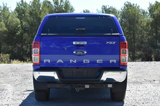 2016 Ford Ranger PX MkII XLT Double Cab Blue 6 Speed Sports Automatic Utility