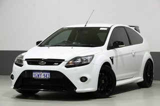 2010 Ford Focus LV RS White 6 Speed Manual Hatchback.