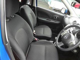 2011 Nissan Micra K13 ST-L Blue 4 Speed Automatic Hatchback