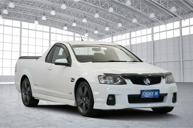 Used Holden Ute VE II SV6 Thunder, 2011 Holden Ute VE II SV6 Thunder White 6 Speed Manual Utility