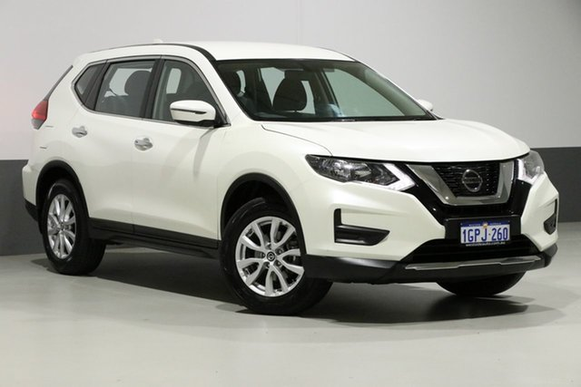 Used Nissan X-Trail T32 Series 2 ST (2WD), 2018 Nissan X-Trail T32 Series 2 ST (2WD) Pearl White Continuous Variable Wagon