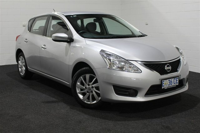 Used Nissan Pulsar C12 ST, 2014 Nissan Pulsar C12 ST Silver 1 Speed Constant Variable Hatchback