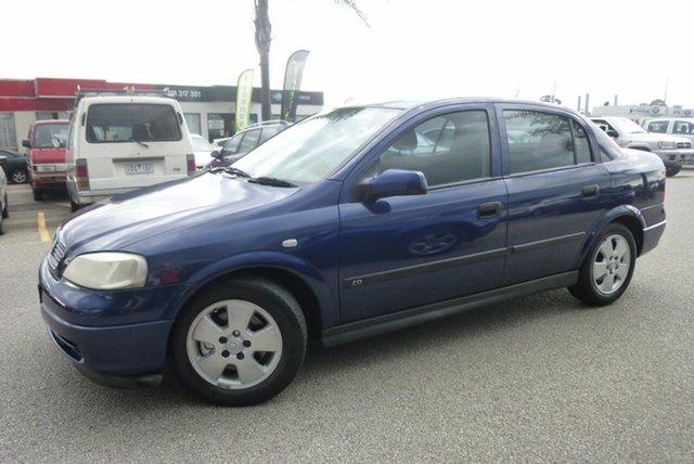 Used Holden Astra TS MY03 CD, 2003 Holden Astra TS MY03 CD Blue 4 Speed Automatic Sedan