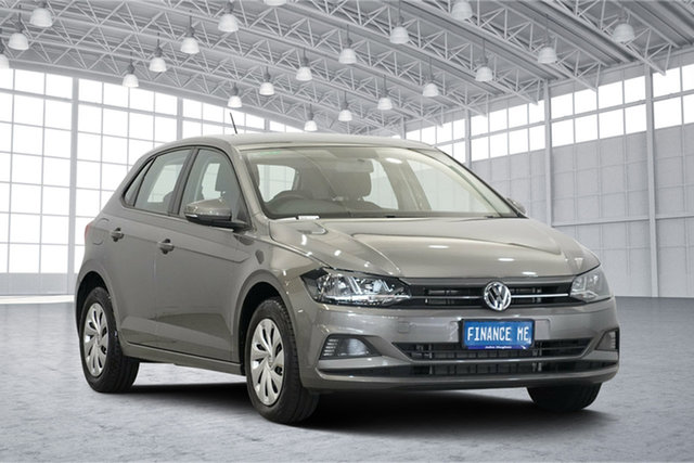Used Volkswagen Polo AW MY19 70TSI DSG Trendline, 2018 Volkswagen Polo AW MY19 70TSI DSG Trendline Limestone Grey 7 Speed Sports Automatic Dual Clutch