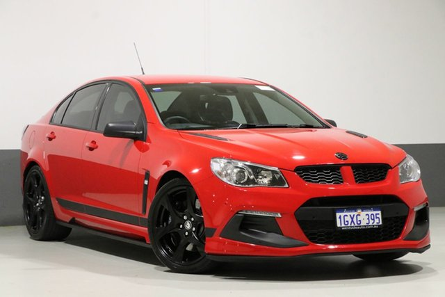 Used Holden Special Vehicles ClubSport Gen-F2 R8 SV Black LS3, 2016 Holden Special Vehicles ClubSport Gen-F2 R8 SV Black LS3 Red 6 Speed Auto Active Select Sedan