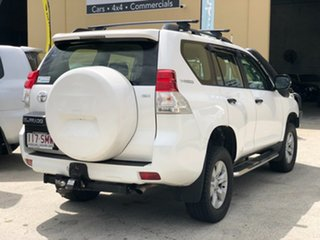 2012 Toyota Landcruiser Prado KDJ150R GX White 6 Speed Manual Wagon