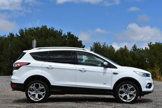 2017 Ford Escape ZG Titanium PwrShift AWD Frozen White 6 Speed Sports Automatic Dual Clutch Wagon.
