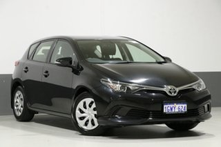 2017 Toyota Corolla ZRE182R MY15 Ascent Black 7 Speed CVT Auto Sequential Hatchback.