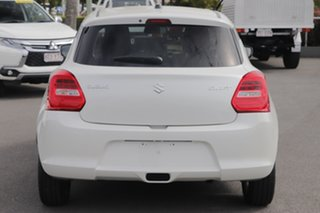 2018 Suzuki Swift AZ GL Navigator White 1 Speed Constant Variable Hatchback.