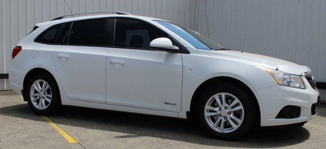 Used Holden Cruze JH Series II MY13 CD Sportwagon, 2013 Holden Cruze JH Series II MY13 CD Sportwagon White 6 Speed Sports Automatic Wagon