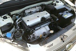2009 Kia Rio JB MY09 LX White 5 Speed Manual Hatchback