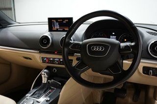 2015 Audi A3 8V MY15 Attraction S Tronic Black 7 Speed Sports Automatic Dual Clutch Cabriolet