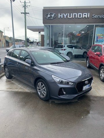 Demo Hyundai i30 PD2 MY18 Active, 2018 Hyundai i30 PD2 MY18 Active Iron Gray 6 Speed Sports Automatic Hatchback