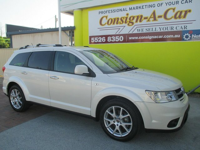 Used Fiat Freemont JF Lounge, 2013 Fiat Freemont JF Lounge White 6 Speed Automatic Wagon