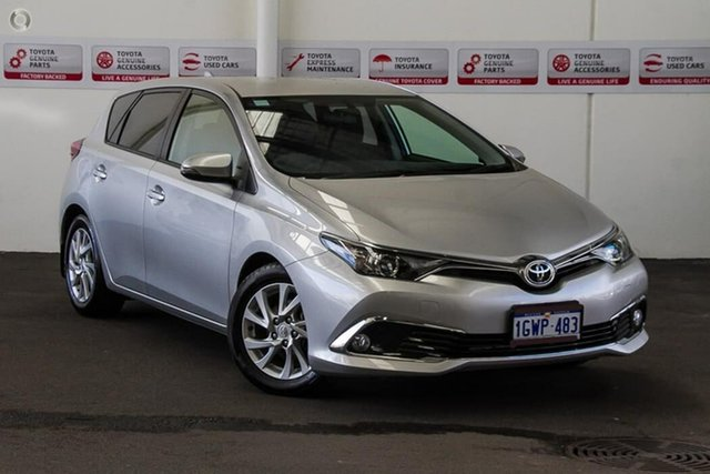 Used Toyota Corolla ZRE182R MY17 Ascent Sport, 2017 Toyota Corolla ZRE182R MY17 Ascent Sport Silver Pearl 7 Speed CVT Auto Sequential Hatchback