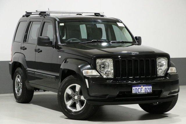 Used Jeep Cherokee KK Sport (4x4), 2009 Jeep Cherokee KK Sport (4x4) Black 4 Speed Automatic Wagon