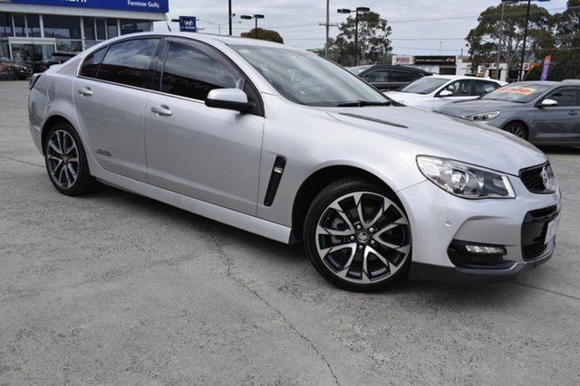 Used Holden Commodore VF II MY16 SS V, 2015 Holden Commodore VF II MY16 SS V Silver 6 Speed Manual Sedan