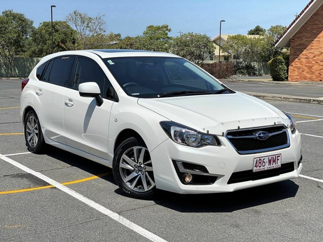 Used Subaru Impreza G4 MY16 2.0i-L Lineartronic AWD Special Edition, 2016 Subaru Impreza G4 MY16 2.0i-L Lineartronic AWD Special Edition White 6 Speed Constant Variable