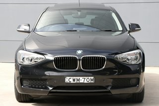 2014 BMW 1 Series F20 MY0713 116i Steptronic Black 8 Speed Sports Automatic Hatchback