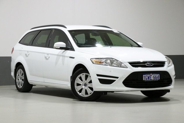 Used Ford Mondeo MC LX TDCi, 2014 Ford Mondeo MC LX TDCi White 6 Speed Direct Shift Wagon