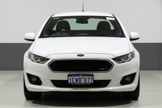 2015 Ford Falcon FG X XR6 (LPi) White 6 Speed Automatic Utility.