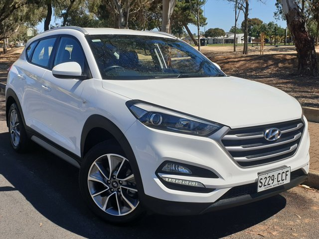 Used Hyundai Tucson TL MY17 Active X 2WD, 2017 Hyundai Tucson TL MY17 Active X 2WD White 6 Speed Sports Automatic Wagon