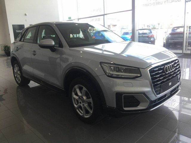 Used Audi Q2 GA MY19 35 TFSI S Tronic design, 2018 Audi Q2 GA MY19 35 TFSI S Tronic design Silver 7 Speed Sports Automatic Dual Clutch Wagon