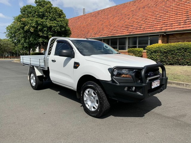 Used Ford Ranger  XL, 2016 Ford Ranger PXII XL White 6 Speed Automatic Cab Chassis