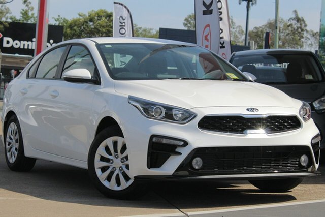 Used Kia Cerato BD MY20 S, 2019 Kia Cerato BD MY20 S Clear White 6 Speed Sports Automatic Sedan