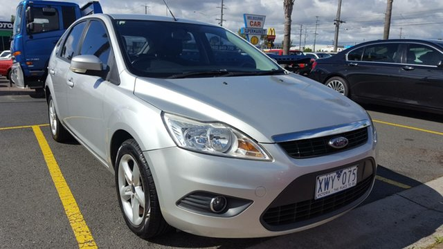 Used Ford Focus LV Mk II LX, 2010 Ford Focus LV Mk II LX Silver 4 Speed Sports Automatic Hatchback