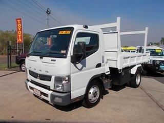 2011 Mitsubishi Canter Fuso White Tipper 3.0l