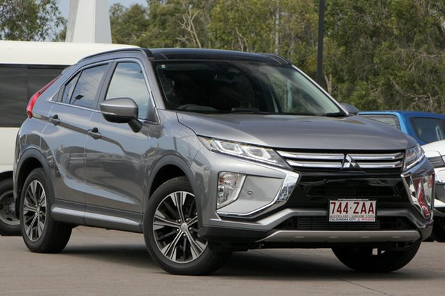 Demo Mitsubishi Eclipse Cross YA MY18 Exceed AWD, 2018 Mitsubishi Eclipse Cross YA MY18 Exceed AWD Titanium 8 Speed Constant Variable Wagon