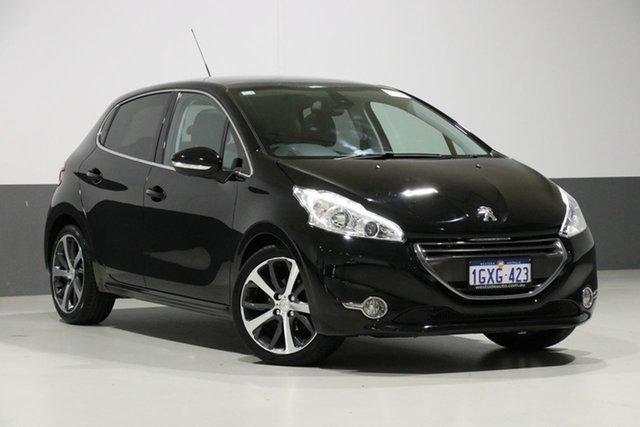 Used Peugeot 208  Allure Premium, 2013 Peugeot 208 Allure Premium Black 4 Speed Automatic Hatchback