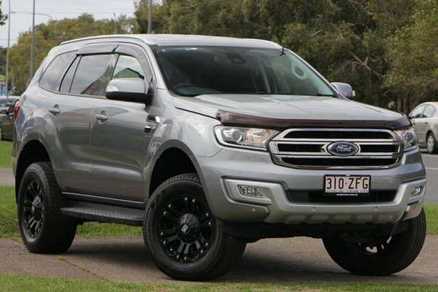 Used Ford Everest UA Trend 4WD, 2016 Ford Everest UA Trend 4WD Silver 6 Speed Sports Automatic Wagon