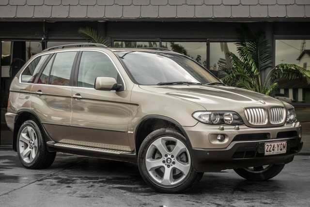 Used BMW X5 E53 MY05 Steptronic, 2005 BMW X5 E53 MY05 Steptronic Grey 6 Speed Sports Automatic Wagon