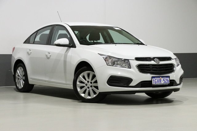 Used Holden Cruze JH MY16 Equipe, 2016 Holden Cruze JH MY16 Equipe White 6 Speed Automatic Hatchback