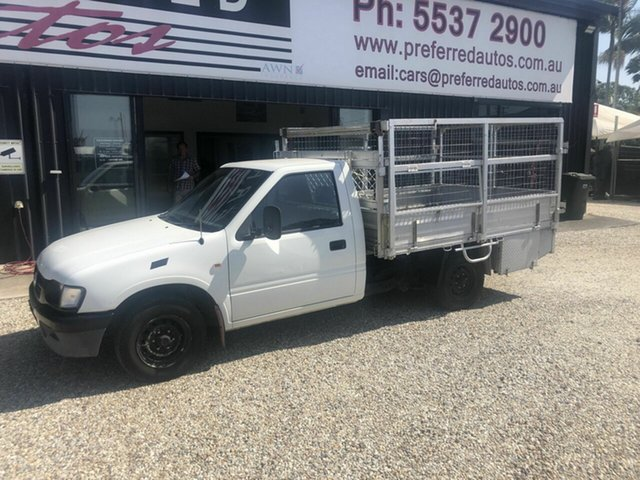 Used Holden Rodeo  DX, 2001 Holden Rodeo Removeable cage DX White 5 Speed Manual Trayback