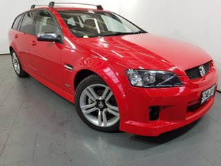 2010 Holden Commodore VE MY10 SV6 Sportwagon Red 6 Speed Sports Automatic Wagon.
