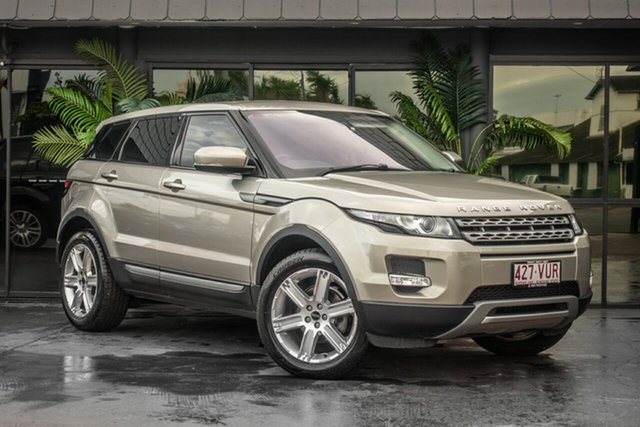 Used Land Rover Range Rover Evoque L538 MY12 SD4 CommandShift Pure, 2011 Land Rover Range Rover Evoque L538 MY12 SD4 CommandShift Pure Silver 6 Speed Sports Automatic