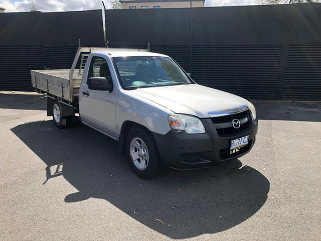 Used Mazda BT-50 UNY0W3 DX 4x2, 2008 Mazda BT-50 UNY0W3 DX 4x2 Silver 5 Speed Manual Cab Chassis