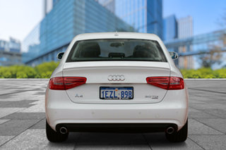 2012 Audi A4 B8 8K MY13 S Tronic Quattro White 7 Speed Sports Automatic Dual Clutch Sedan