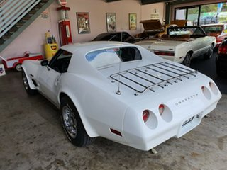 1974 Chevrolet Corvette C3 Stingray White 3 Speed Automatic Coupe